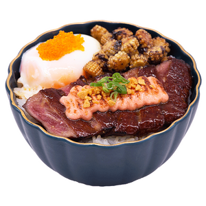 Mentaiko Steak Don
