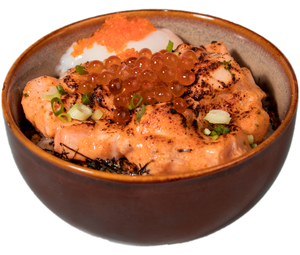 Spicy Mentaiko Salmon (Raw)