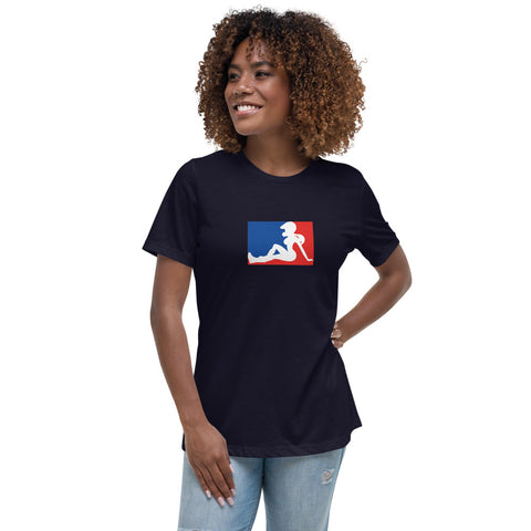 Motocandy Logo Women's Fitted T-Shirt