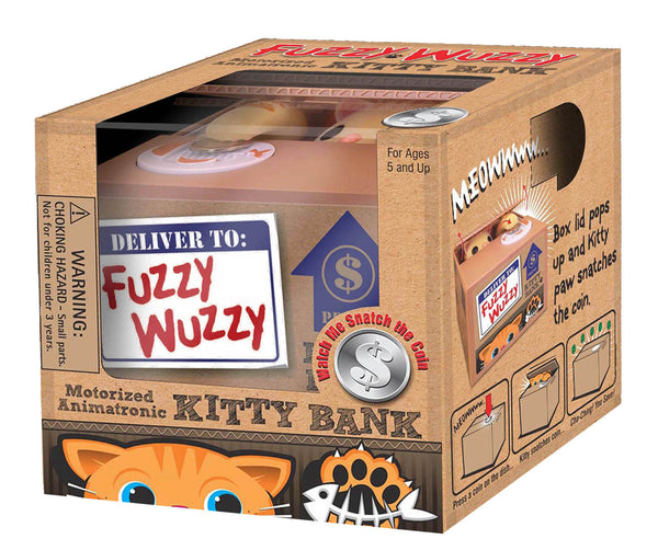 FUZZY WUZZY KITTY BANK