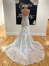 Load image into Gallery viewer, Allure Lace & Beaded Fit & Flare Gown