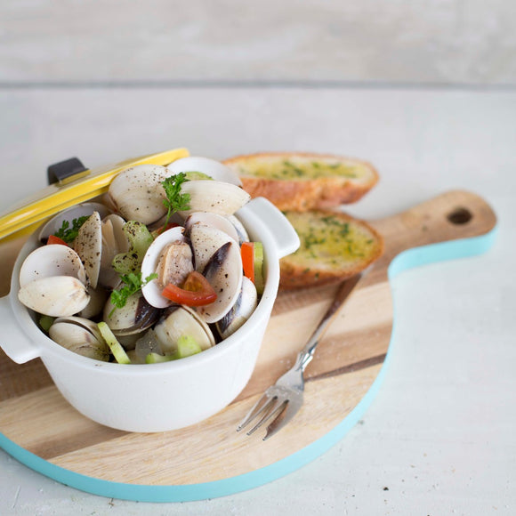 Cooked White Clams