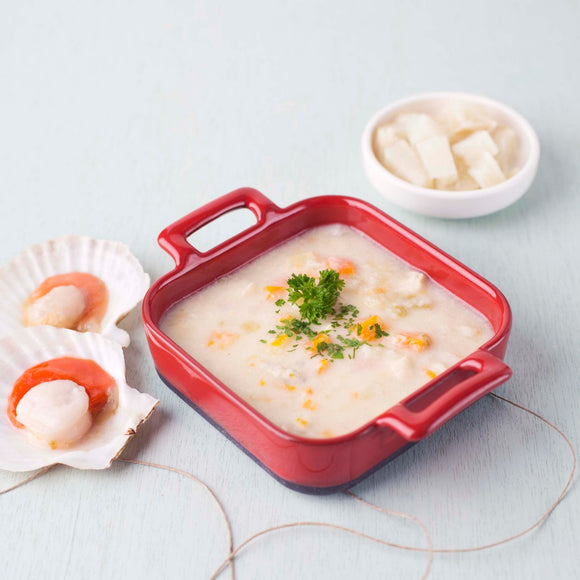 Black Cod and Scallop Chowder
