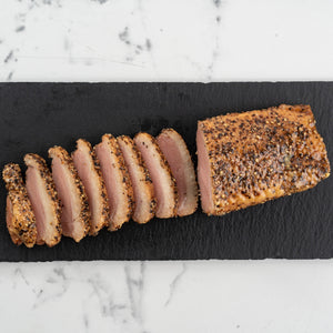 Smoked Duck with Black Pepper