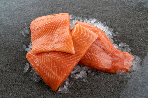 Frozen Salmon Portion Skinless (3-5 pc)