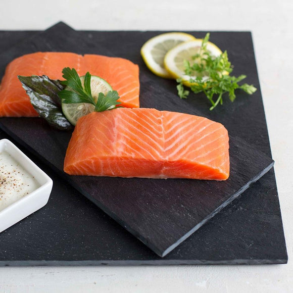 Salmon Fillet Skin On (4-5pc/pkt)