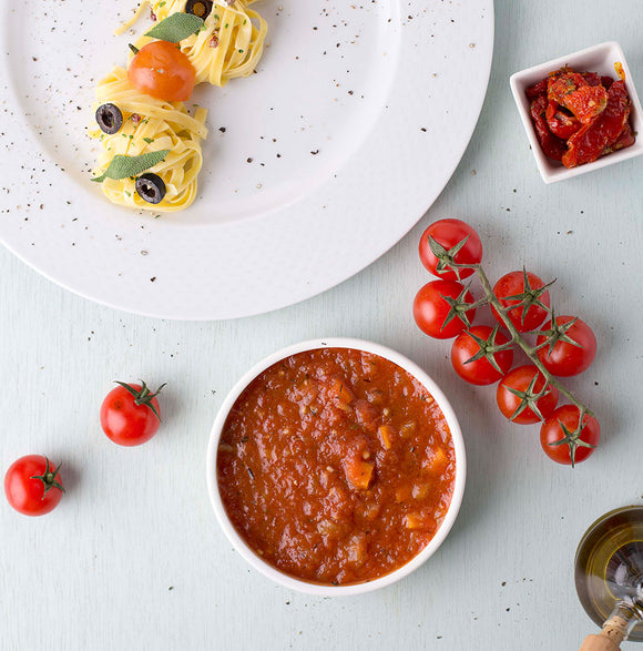 Sauce Napolitana with Garden Vegetables