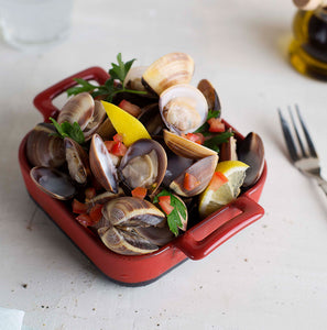 Cooked Brown Clams