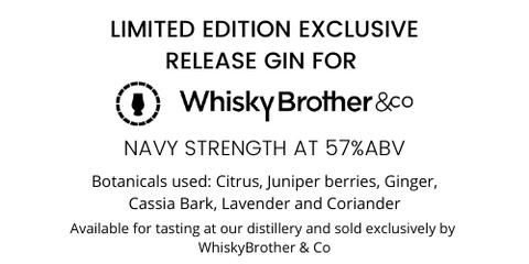 WhiskyBrother Exclusive release gin