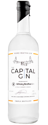 whiskybrother&co gin, exclusive release, the capital distillery, navy strength, authentic spirits