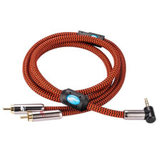 "Load image into Gallery viewer, trendweekly.com:1/8"" 3.5mm to Dual RCA Audio Cable"