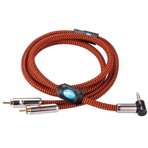"trendweekly.com:1/8"" 3.5mm to Dual RCA Audio Cable"