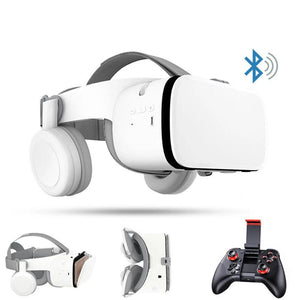 trendweekly.com:Immersive VR Headset Bluetooth Wireless