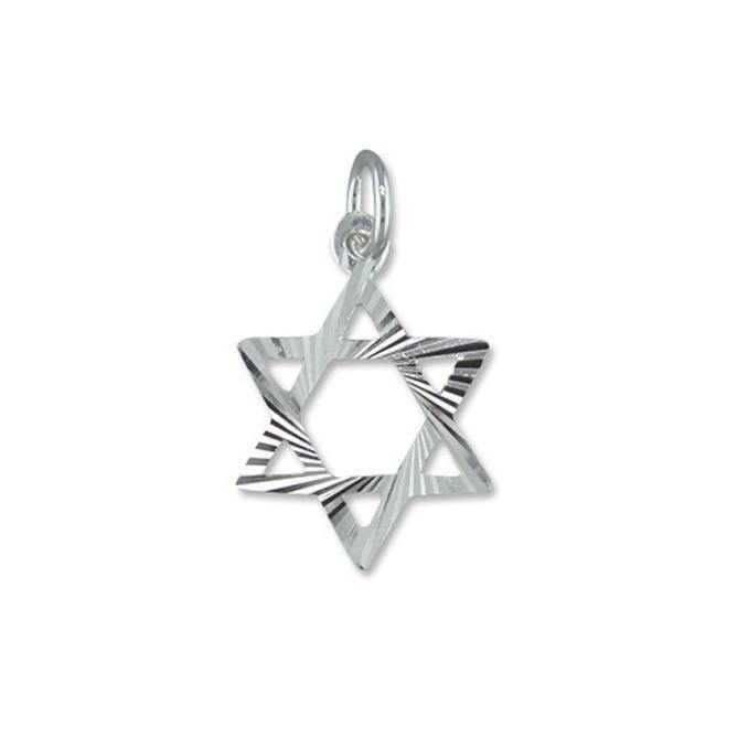 Star of David Pendant 925 Sterling Silver - Renee Isabella