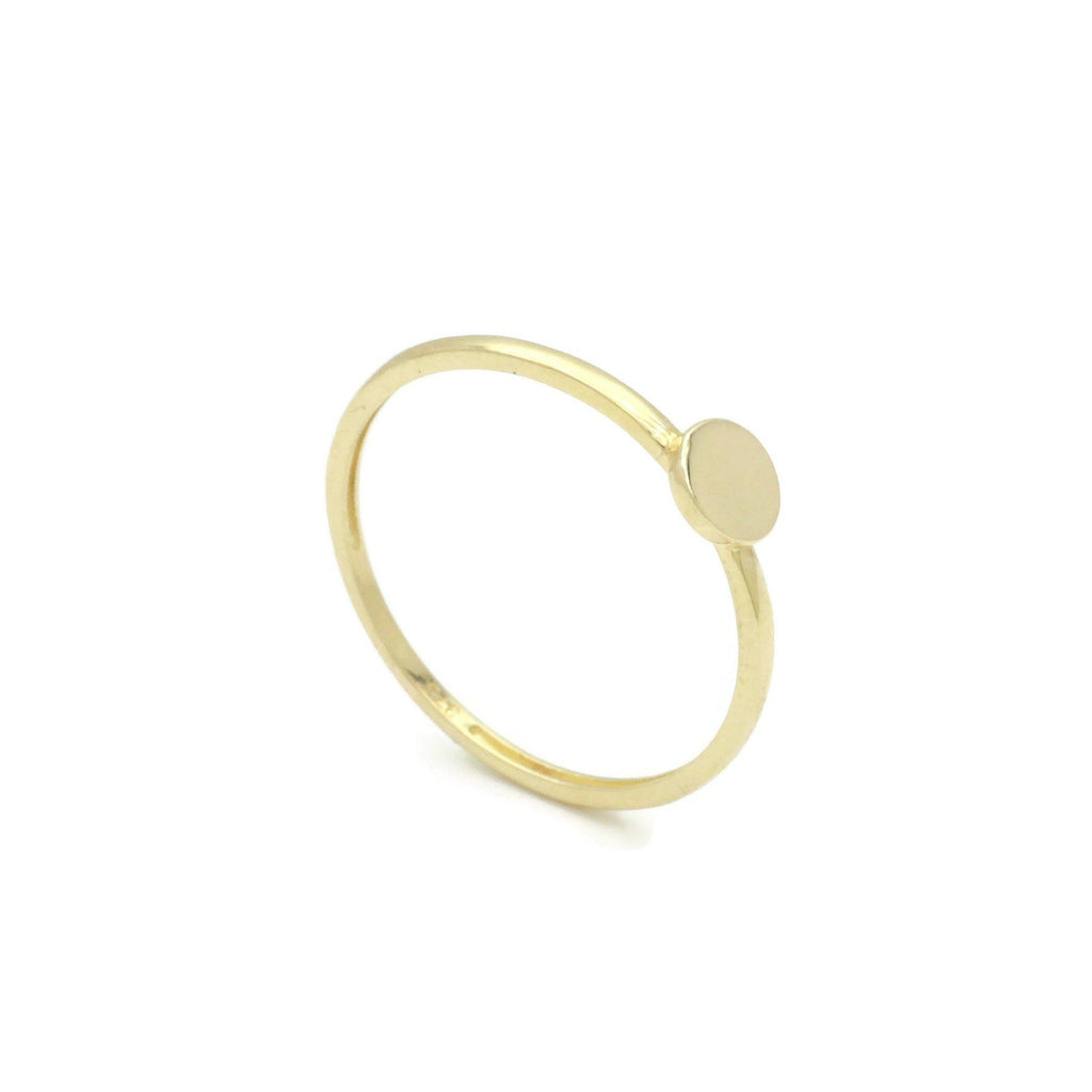 Sun Ring 9ct Yellow Gold - Renee Isabella