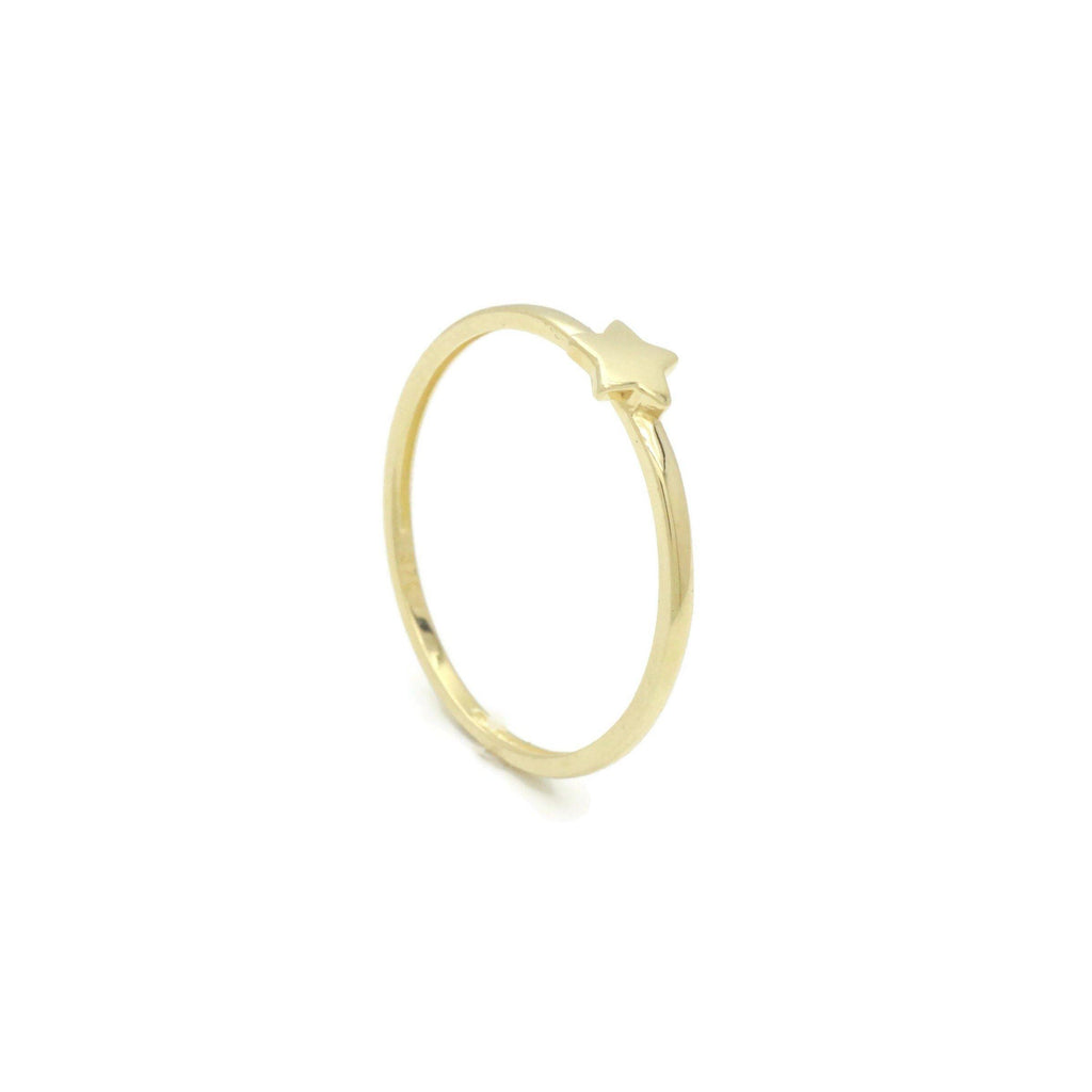 Star Ring 9ct Yellow Gold - Renee Isabella