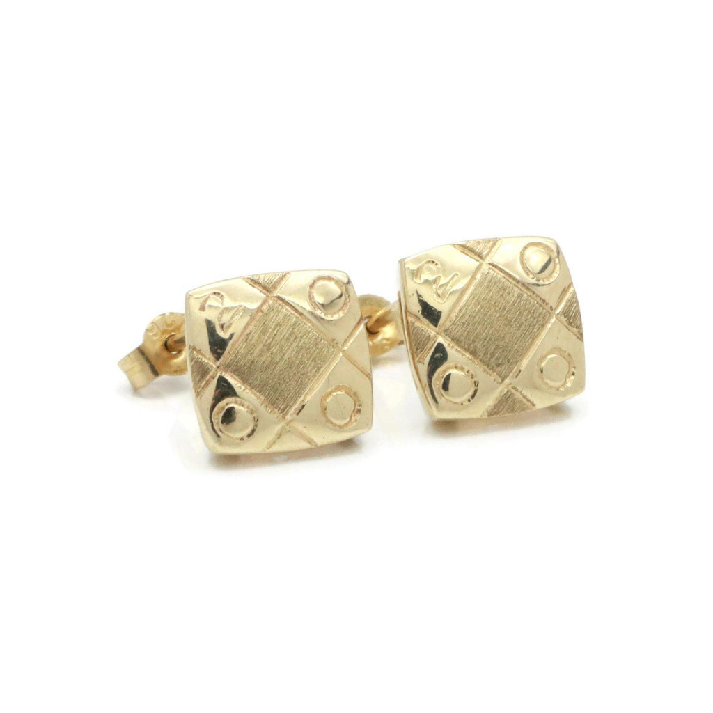 Clogau Stud Earrings 9ct Yellow Gold