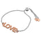 Love Slider Bracelet 925 Sterling Silver