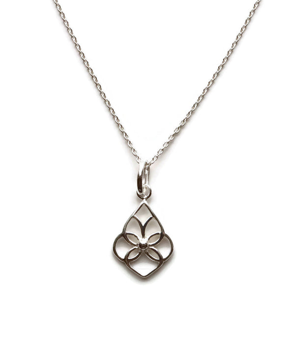 Silver Knot Pendant 925 Sterling Silver