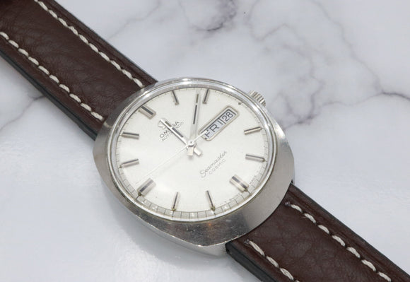Omega Seamaster Cosmic Silver Mens Watch