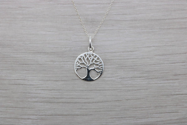 Tree of Life Pendant 925 Sterling Silver