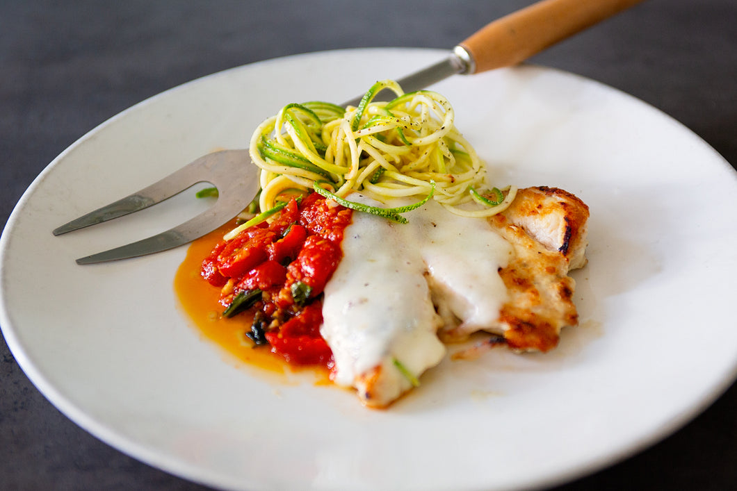 Chicken Parmesan Zoodle