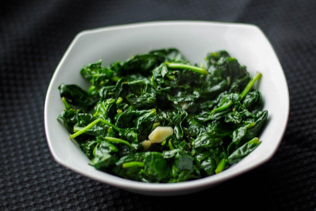 Spinach Sauteed