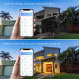 Genie Smart LED Bulb A19 E27 (Works with Google Home/Alexa) - The Genie Tech