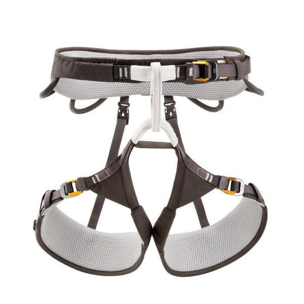 Petzl Aquila Climbing Harness Gray Multiple Sizes New