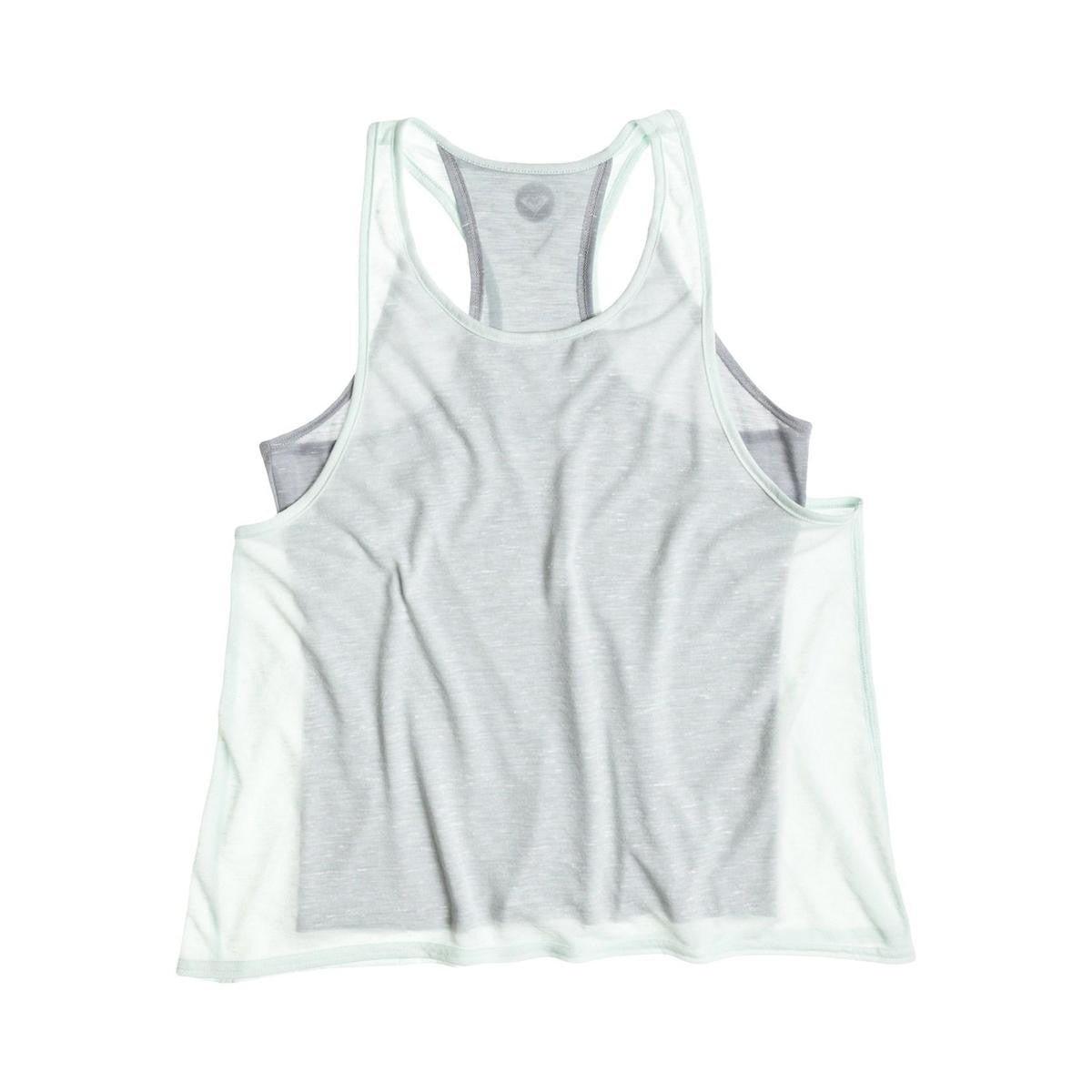 Roxy Double Down Tank Moon Light Jade New Womens