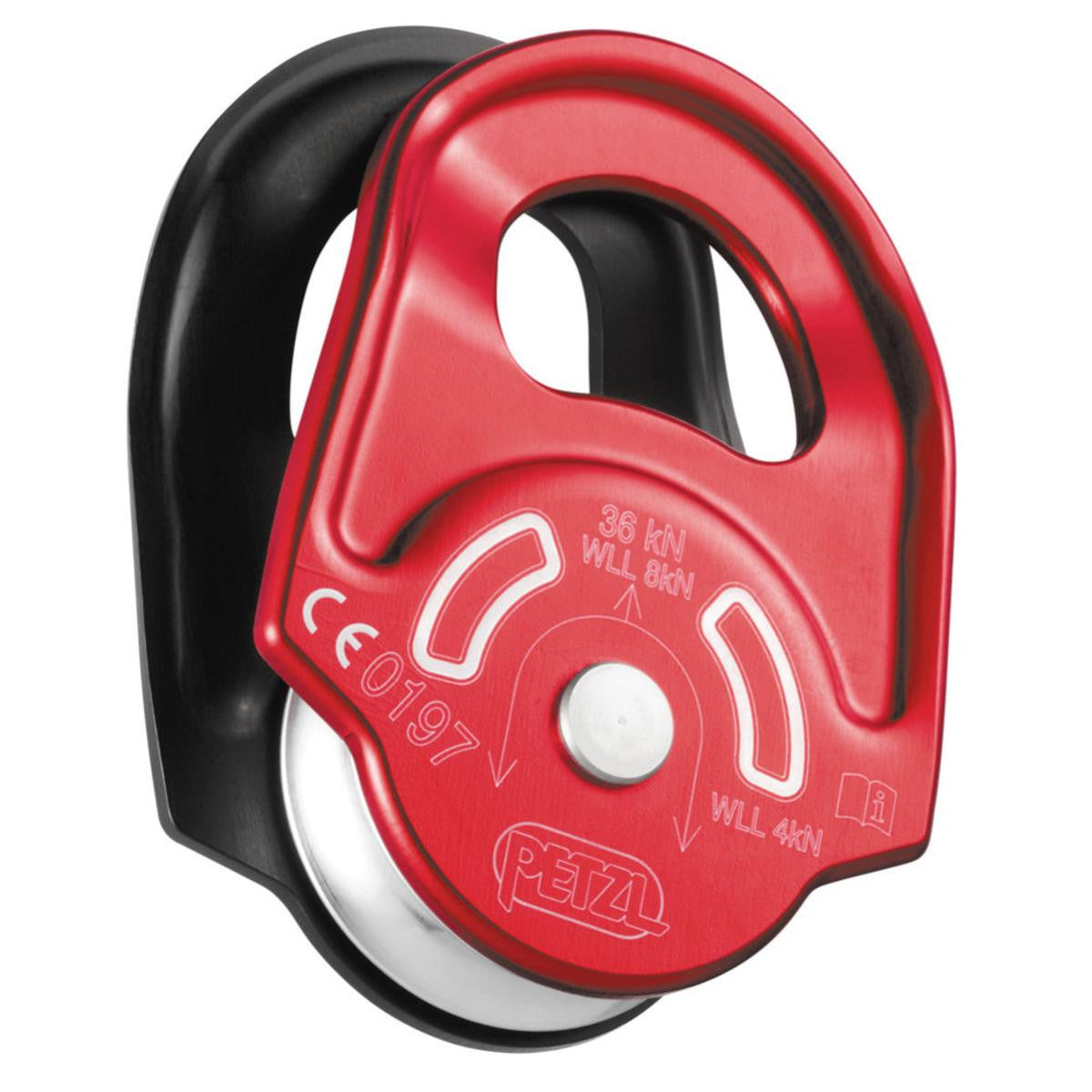 Petzl Rescue Single Pulley with Pivoting Plates