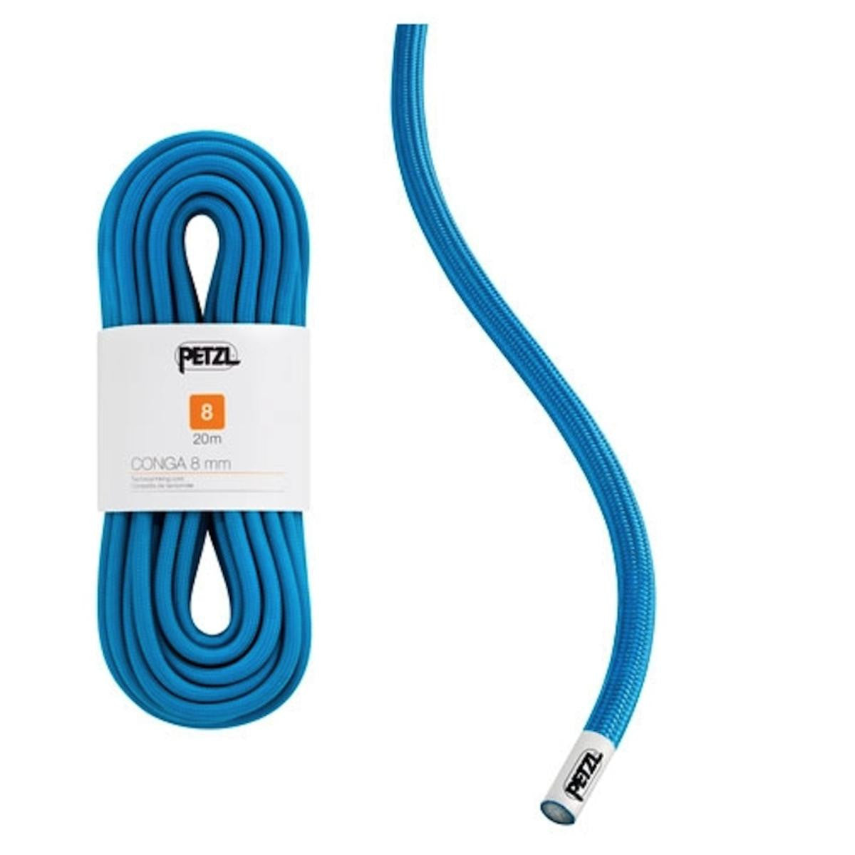 Petzl Conga Semi Static Cord Blue 8mm X 20m
