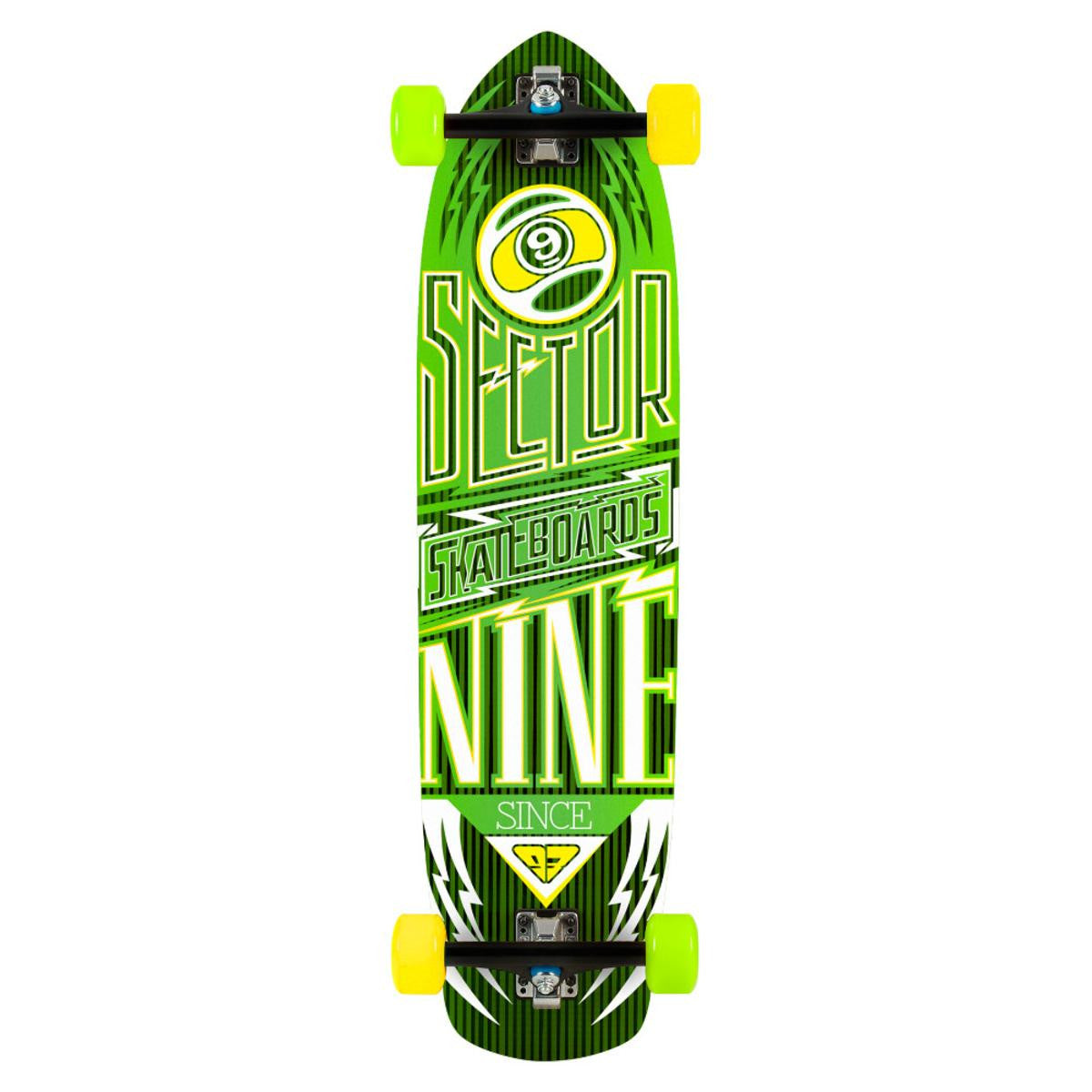 "Sector 9 Carbon Flight 36"" Longboard Complete Multiple Colors NEW"