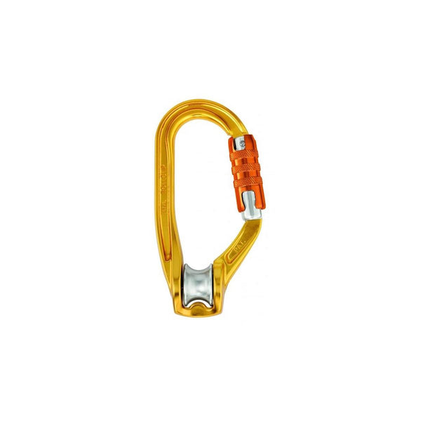 Petzl Rollclip H-frame (Triact-Lock) pulley carabiner