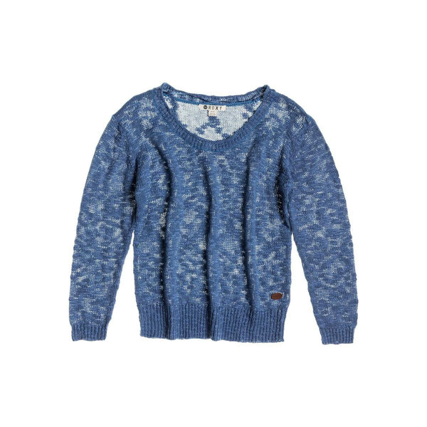 Roxy Doheny Sweater Copen Blue New Womens
