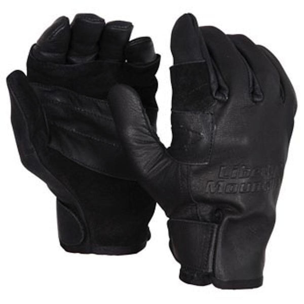 Liberty Mountain Rappel Gloves Small Black