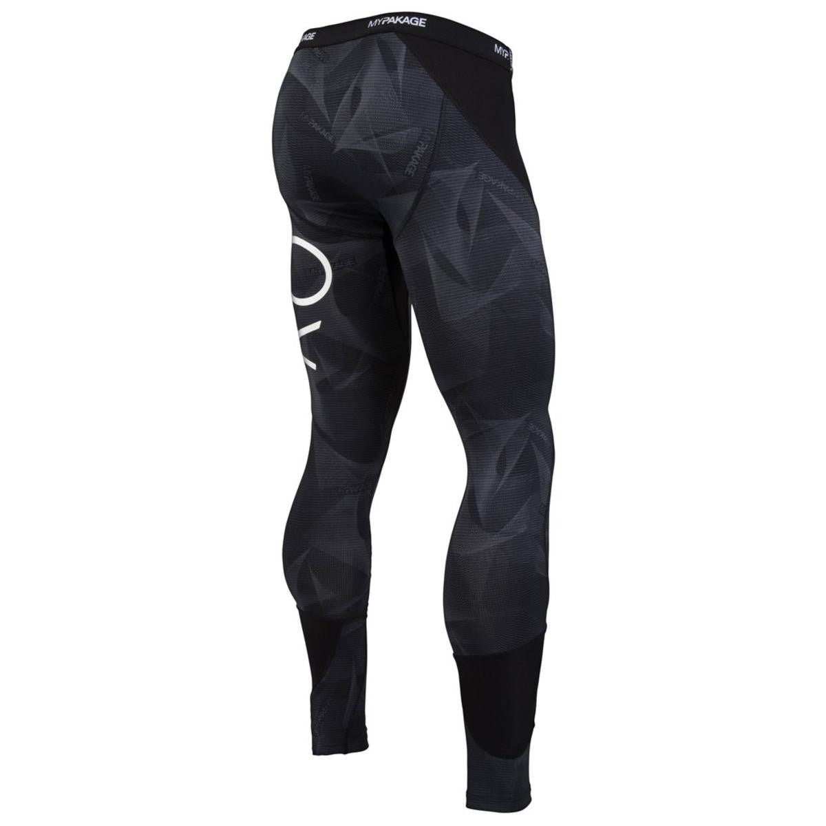 MyPakage Pro-X Full Length Men's Compression Tights