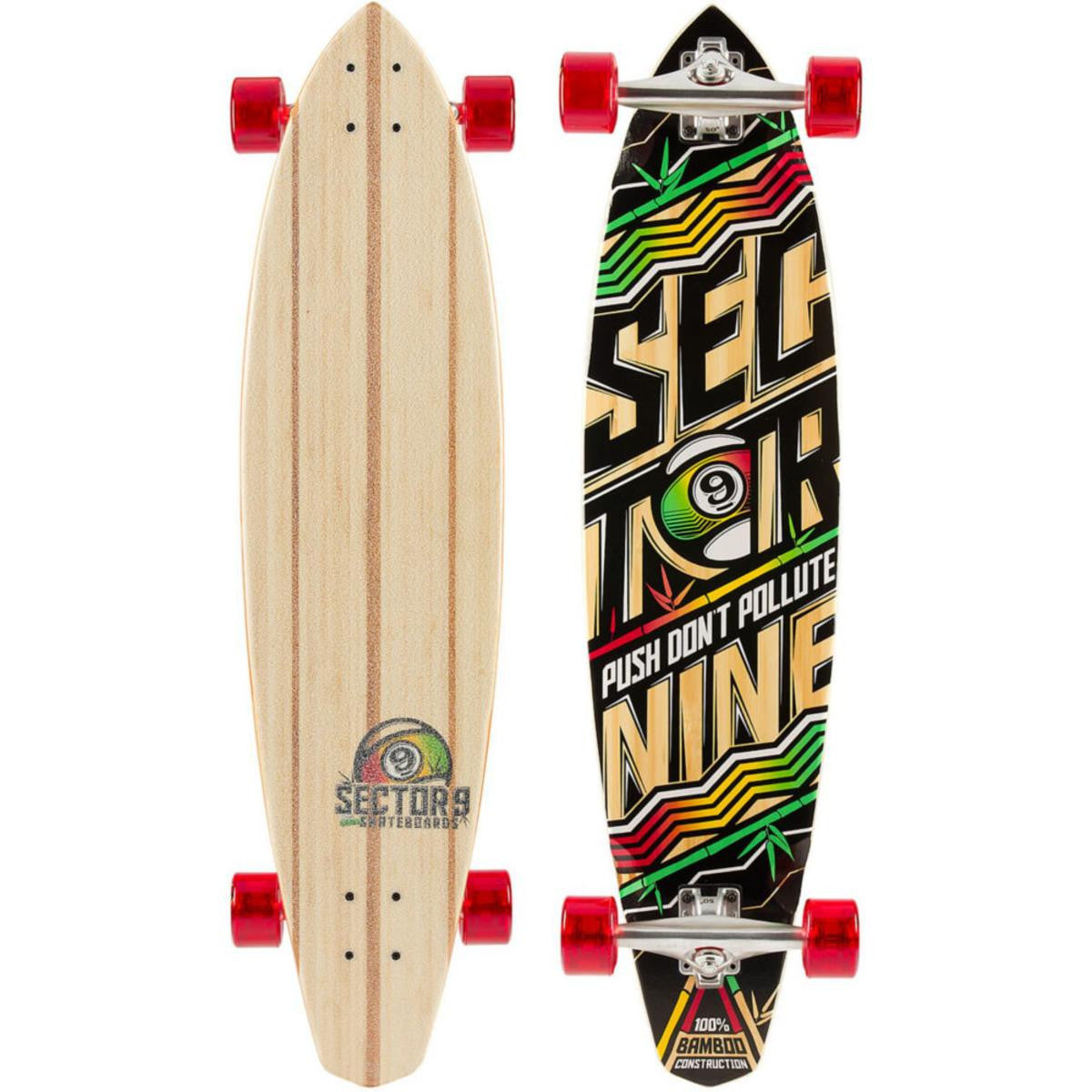 "Sector 9 Rhythm 38.3"" Longboard Complete 70mm Wheels Gullwing Trucks"