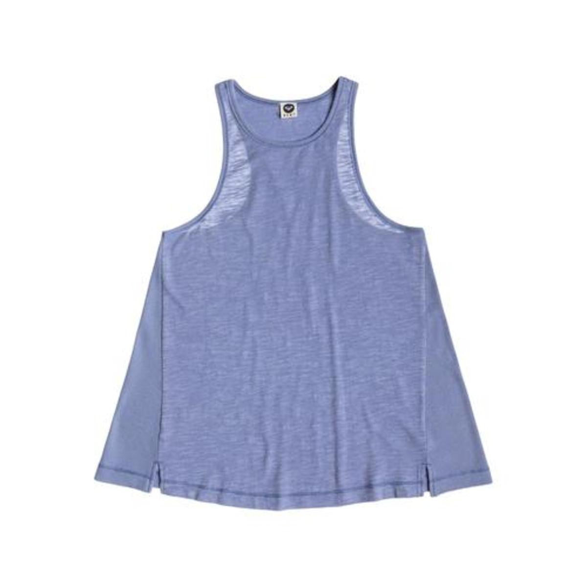 Roxy Rockaway Tank Top Light Denim New Womens
