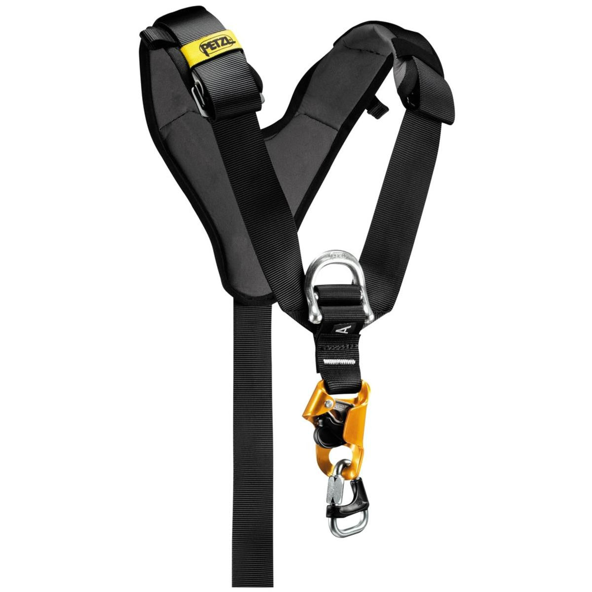Petzl Top Croll Chest Harness For Seat Harness