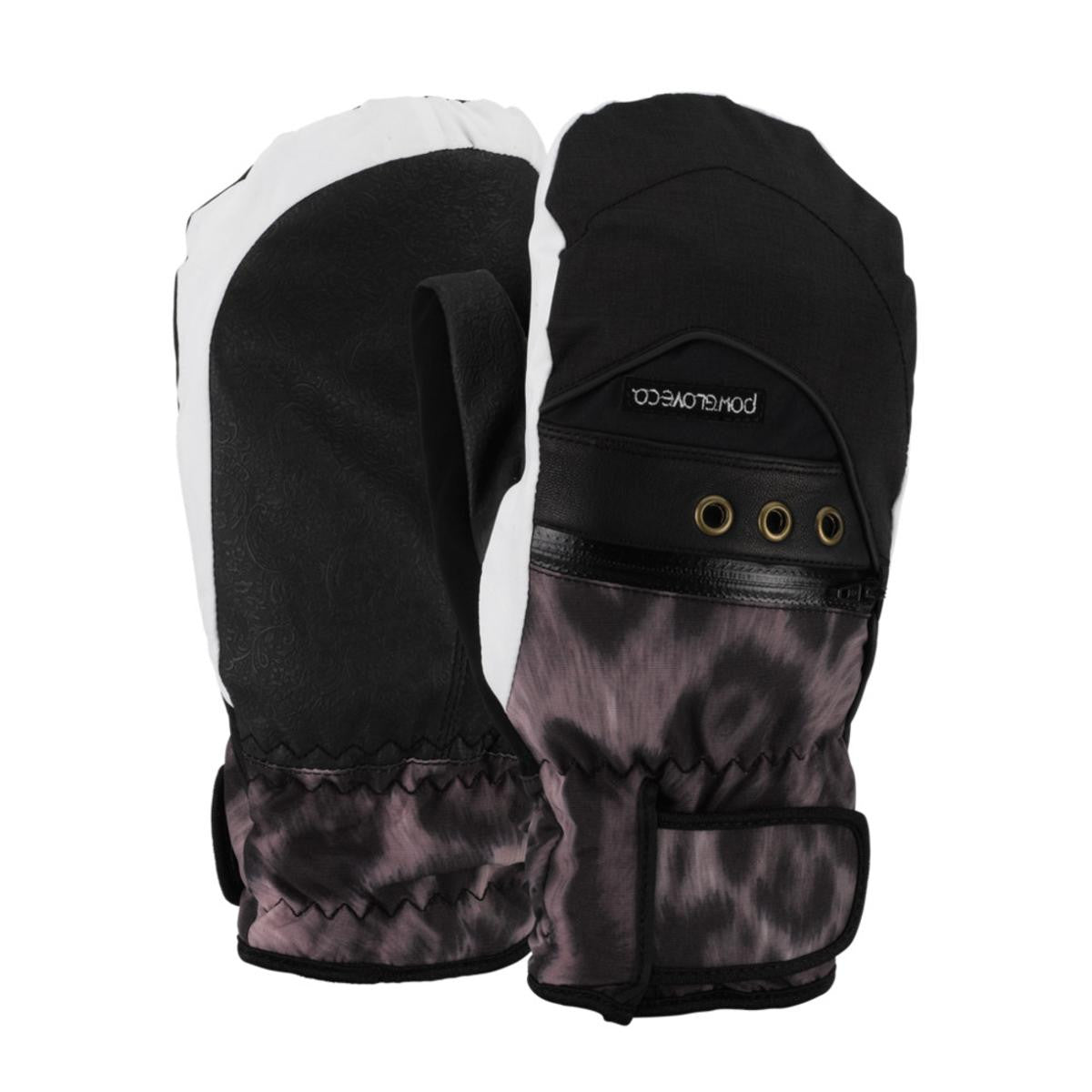 Pow Astra Womens Mitts Cheetah Multiple Sizes New Womens