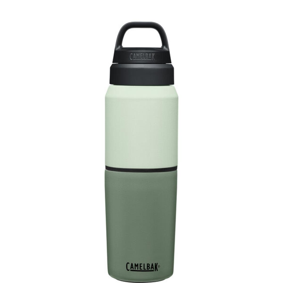 Camelbak MultiBev 17 oz Bottle / 12 oz Cup, Insulated Stainless Steel Water Bottle