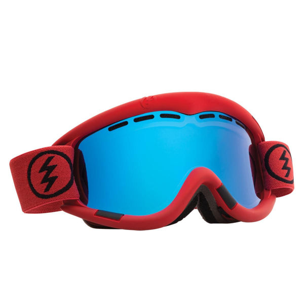 Electric EG1 Goggles Brick Bronze Blue Chrome + Bonus Lens