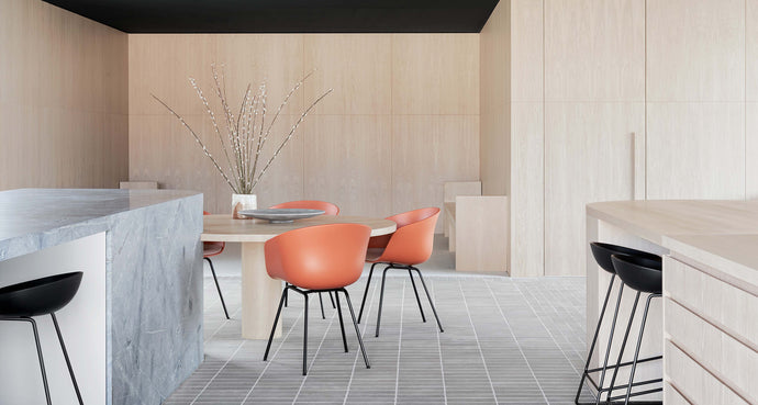 A Contemporary Icon. HAY About A Chair Collection Shines in Australian Design