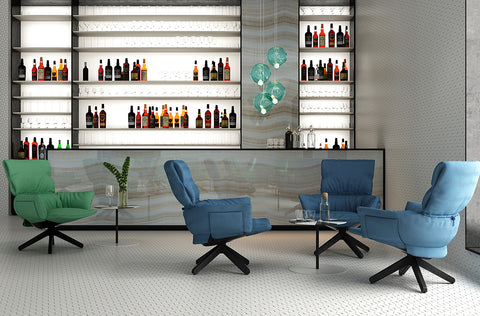 Fashion, design and sustainability meet in Cappellini's new Lud'o Lounge chair by Patricia Urquiola.