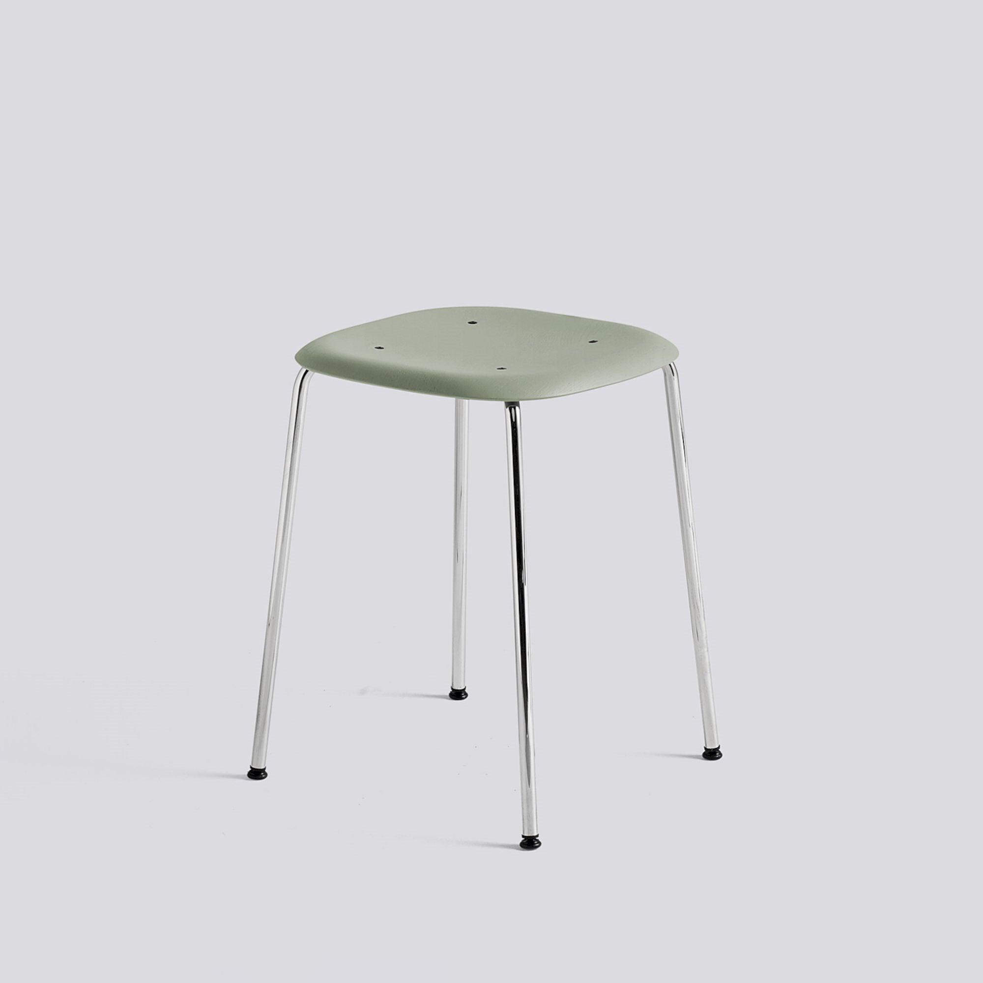 Soft Edge 70 Stool, Oak Seat