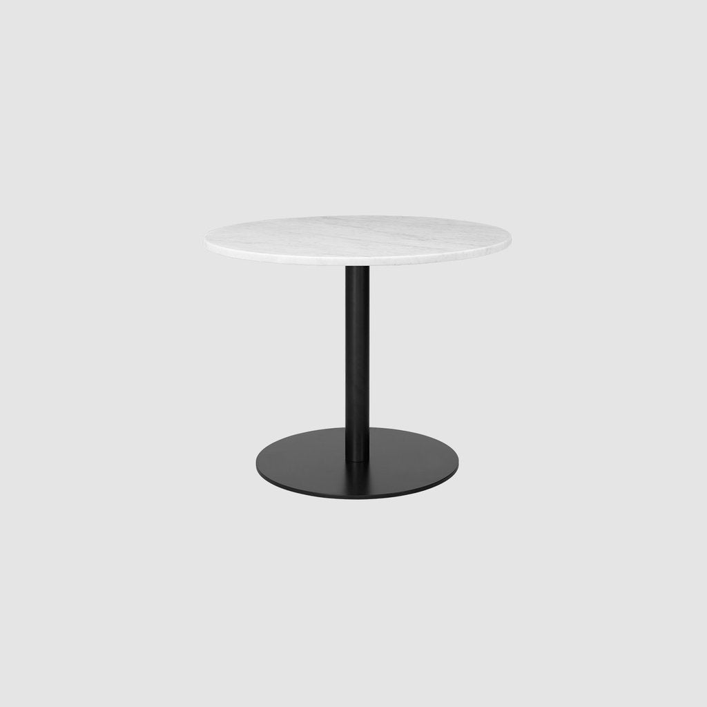 Gubi 1.0 Round Lounge, Glass Ø60cm