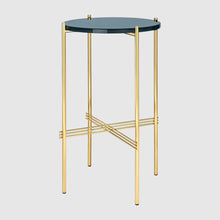 TS Side Table - Round, Ø40cm, Brass Base