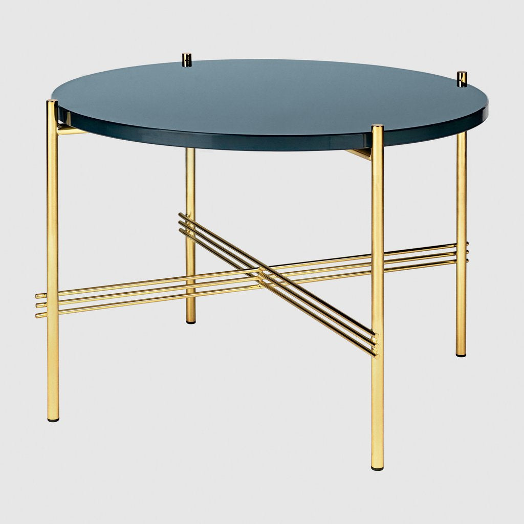 TS Coffee Table - Round, Ø55, Brass base