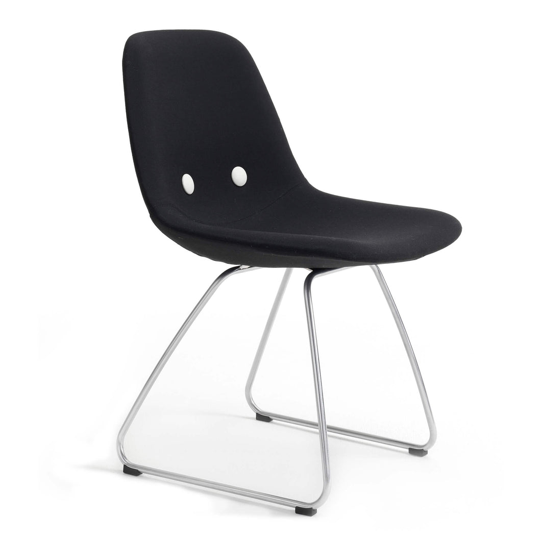 EJ2211 Aqua - Stackable chair with arms